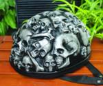 3D Airbrush Motorcycle Skull Helmet Halloween Mask