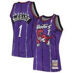 Tracy McGrady Toronto Raptors Mitchell & Ness 1998 Hardwood Classics Jersey - Purple