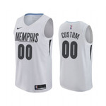 Custom MLK Day Grizzlies Honor King Jersey White