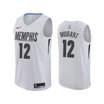 Ja Morant MLK Day Grizzlies Honor King Jersey White