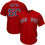Mookie Betts Boston Red Sox Majestic Cool Base Player Jersey - Scarlet