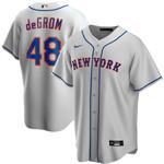 Jacob deGrom New York Mets Nike Road 2020 Replica Player Jersey - Gray