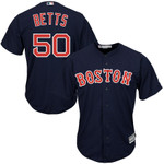 Mookie Betts Boston Red Sox Majestic Cool Base Player Jersey - Navy