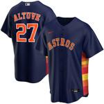 Jose Altuve Houston Astros Nike Alternate 2020 Replica Player Jersey - Navy