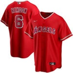 Anthony Rendon Los Angeles Angels Nike Alternate 2020 Replica Player Jersey - Red