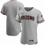 Men's Arizona Diamondbacks Nike Gray Road 2020Team Jersey