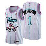 2021 Toronto Raptors Tampa City #1 Paul Watson Jersey White