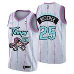 2021 Toronto Raptors Tampa City #25 Chris Boucher Jersey White