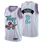 2021 Toronto Raptors Tampa City #2 Jalen Harris Jersey White