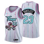 2021 Toronto Raptors Tampa City #23 Fred VanVleet Jersey White