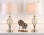 27-inch Bedroom Living Room Home Office Desk Nightstand Table Lamp (Set of 2) - LED Bulbs Included
