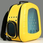 2021 new outgoing carry bag transparent space capsule cat bag
