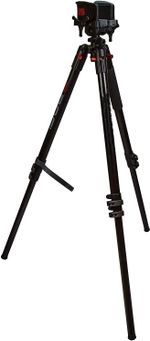 Aluminum tripod with durable, lightweight and stable design,Shooting and Outdoors