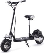 49CC Gas Scooter for Adults Outdoor Gas Powered Scooter Sport Scooters Motor Scooter Air Cooled Black