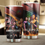 Coldplay 24th Anniversary 1996 2020 Design Gift For Lover Gift For Fan Day Travel Tumbler All Over Print H99
