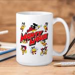 White Mug Mighty Mouse Collage Premium Sublime Ceramic Coffee Mug Y97