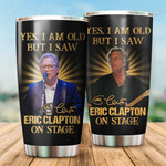 Eric Clapton on stage gift For Lovers Travel Tumbler All Over Print TL97