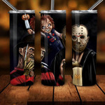 Horror movies A180 gift for lover Skinny Tumbler TL97