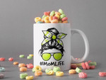 White Mug Mom Life Sport Life Mother Coffee Mug Mothers Day Gift Tennis Premium Sublime Ceramic Coffee Mug H99