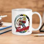 White Mug Marvel Comics Thor For Asgard  Premium Sublime Ceramic Coffee Mug Y97