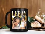 Black Mug Coi Leray Musician Mug RnB Rap Hip Hop 90s Mug Hip Hop Music Lover Gifts Premium Sublime Ceramic Coffee Mug H99