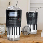 3d Piano Gift for lover Day Travel Tumbler All Over Print TL97