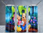 Mickey Mouse Cartoon disney  A222 gift for lover Skinny Tumbler TL97