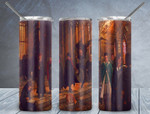 Harry potter movies Magic  565 gift for lover Skinny Tumbler TL97