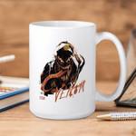 White Mug Marvel Abstract Venom Premium Sublime Ceramic Coffee Mug Y97