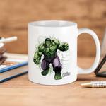 White Mug Marvel Avengers Hulk Fists Premium Sublime Ceramic Coffee Mug Y97