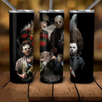 Teams family Horror movies 340 gift for lover Skinny Tumbler TL97