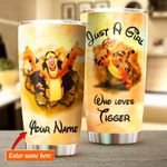 Custom name Winnie-the-Pooh tiger Gift for lover Day Travel Tumbler All Over Print TL97