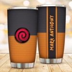 Personalized Uzumaki Clan anime Gift for lover Day Travel Tumbler All Over Print TL97