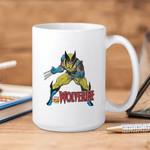 White Mug Marvel Vintage Wolverine Premium Sublime Ceramic Coffee Mug Y97
