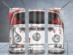 White Car 598 gift for lover Skinny Tumbler TL97