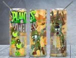 Plants Vs Zombies games 939 gift for lover Skinny Tumbler TL97