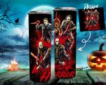 Horror Movies Icons Art Friends Horror Movie Creepy 394 gift for lover Skinny Tumbler TL97