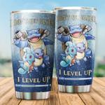 I Level Up Tumbler pokemon 4567  gift for lover Day Travel Tumbler All Over Print TL97