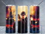Magic harry potter movies A777 gift for lover Skinny Tumbler TL97