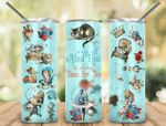 We're All Mad Here It's Always Time For Tea 584 gift for lover Skinny Tumbler TL97