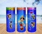 Pinocchio cartoon A187 gift for lover Skinny Tumbler TL97