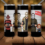 Teams family Horror movies 335 gift for lover Skinny Tumbler TL97