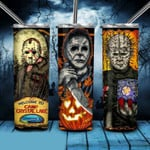 Teams family Horror movies 294 gift for lover Skinny Tumbler TL97