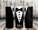 Wedding- Mr. Groom 119 gift for lover Skinny Tumbler TL97