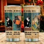 Cat Encourage People , Special Gift for lover Day Travel Tumbler All Over Print TL97