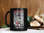 Black Mug The Last Shot Michael Jordan Mug The Last Dance Jordan Mug Chicago Bulls Basketball Team Mug Premium Sublime Ceramic Coffee Mug H99