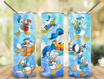 Duck Donal cartoon movies 813 gift for lover Skinny Tumbler TL97