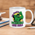 White Mug Marvel My Dad Is Incredible Like Hulk Premium Sublime Ceramic Coffee Mug Y97