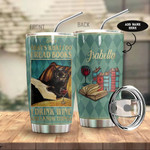 Black Cat Books Personalized drink wine Gift for lover Day Travel Tumbler All Over Print TL97