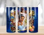 Tiana The Princess and the Frog 826 gift for lover Skinny Tumbler TL97